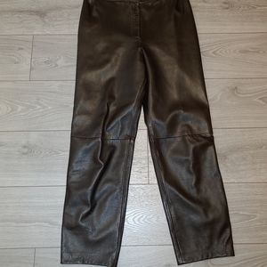 Designer pablo leather pants size 10